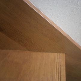階段側板継目不良補修 補修後